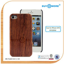 novelty design mobile phone hot wood phone for iphone 4s
