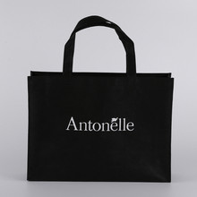 Recycled tote bag personalized large laminated nonwoven shoe shopping bag