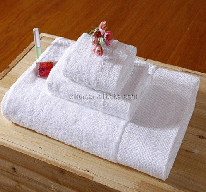 100% cotton white dobby ihram hajj towel