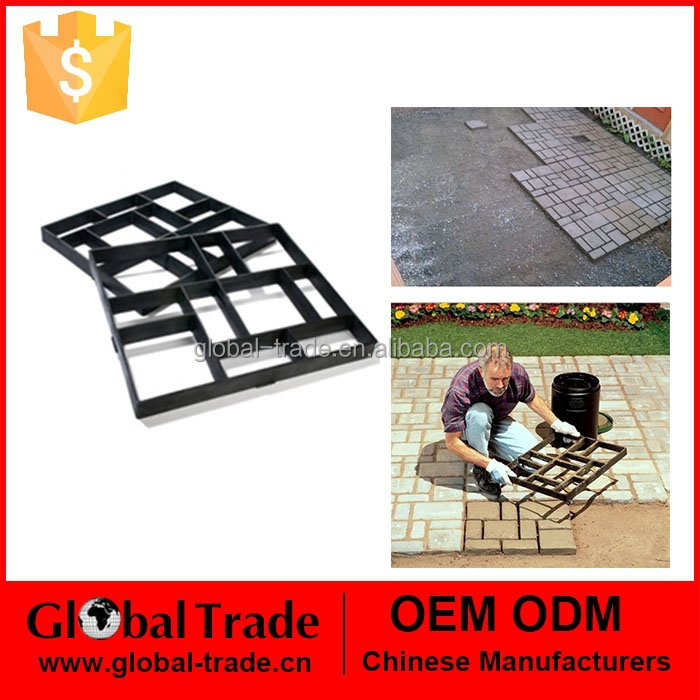 250003 Path Maker Mold Crazy Paving Maker Paving Mold Creates a Beautiful Path for Your Garden