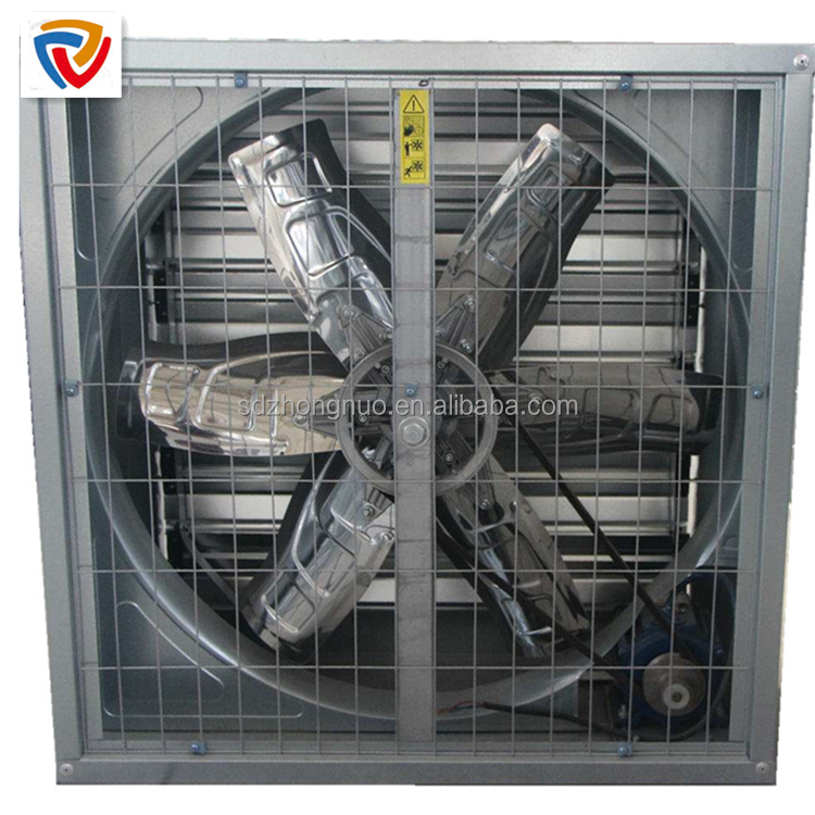 Poultry warm air extractor for warehouse air cooling exhaust fan ventilation