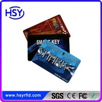 China Manufacturer shenzhen hf top selling products low cost offset pringting RFID smart card