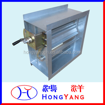 Manual Operation Air Volume Control Damper