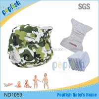 Disposable Baby Fine Reusable Washable Sleepy Pants PUL Diaper + Insert One Pocket Diapers