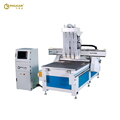 High Quality 1325 Multi Heads Wood CNC Router Kitchen Cabinet Making Furniture Machines