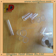Small Diameter Glass Quartz Tube Heater Price, Clear Small Size Silica Glass Tubes