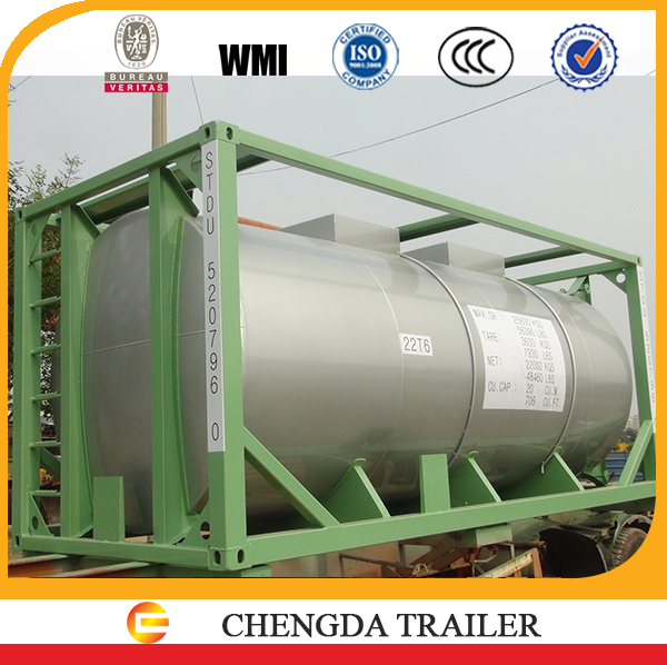 ISO tank container 20ft for shipping on sale