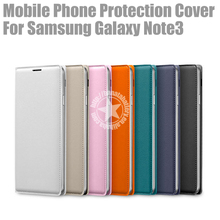 Flip Leather Case for Samsung Galaxy Note3 N9006 Made in China