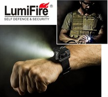 Lumifire B99 Led Rechargeable Tactical Flashlight Lamp Night Running Equipment LED Wrist Light Glare Lighting Watch Flashlight