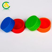 Food Grade Silicone Rubber Reusable Milk Bottle Caps with Custom Logo