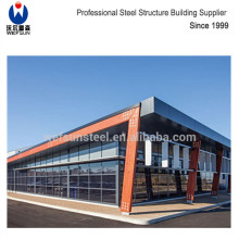 Good Design Steel Structure Building Used as Car Show Room For Sale