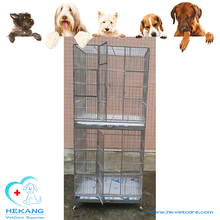 HK-CM028 Eco-friendly Stainless Steel Double Layer Parrot Cage