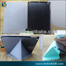 alibaba express foldable pc +pu leather case for ipad 5 air