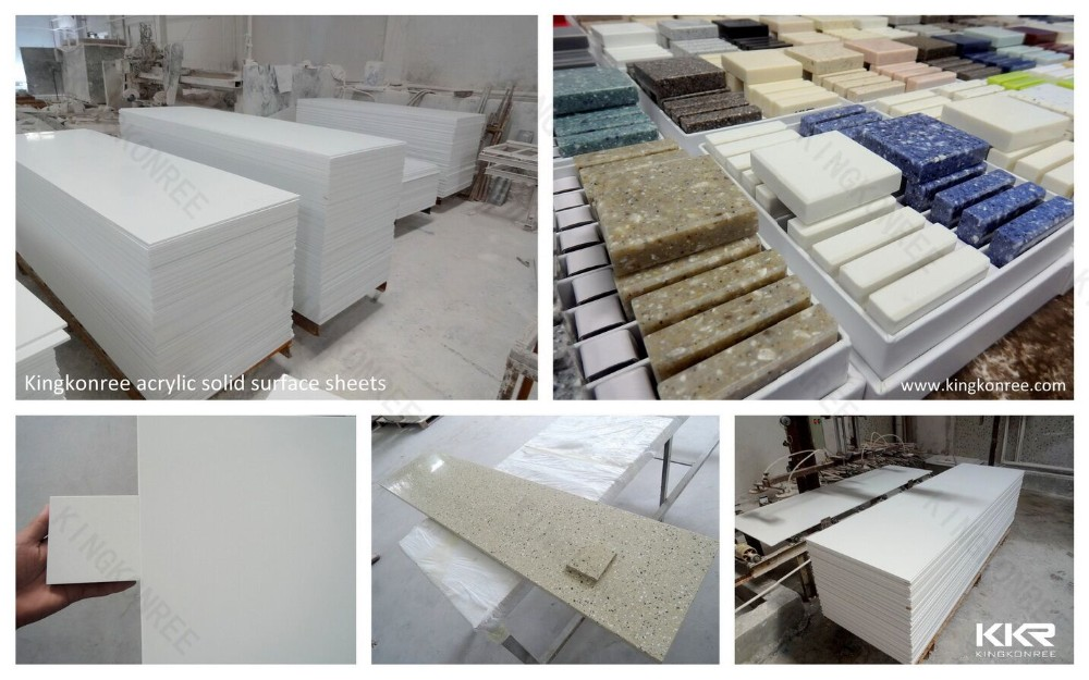 kkr material acrylic solid surface sheets
