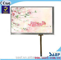WVGA 800*480 dots with TCON(control board) & without TP TFT touch screen 7'' touch screen tft lcd color display