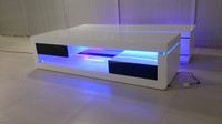 CT-4011 Wooden Coffee Table With LED Light