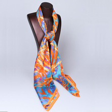 120*120cm luxurious gift brand name italian 100% silk scarf for women