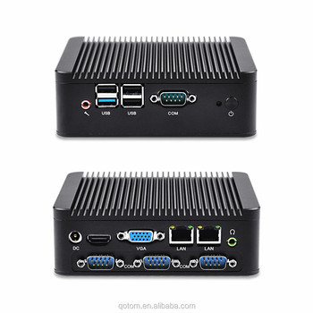 2016 Latest computer hardware linux ubuntu mini pc fanless J1900 Celeron quad core 2.42G Micro pc