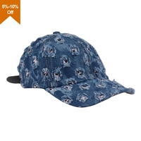 Wholesale custom adult baseball caps wigs embroidered