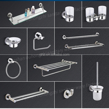 2500 series Stainless Steel 304 Modern Square bathroom sets bathroom accessories