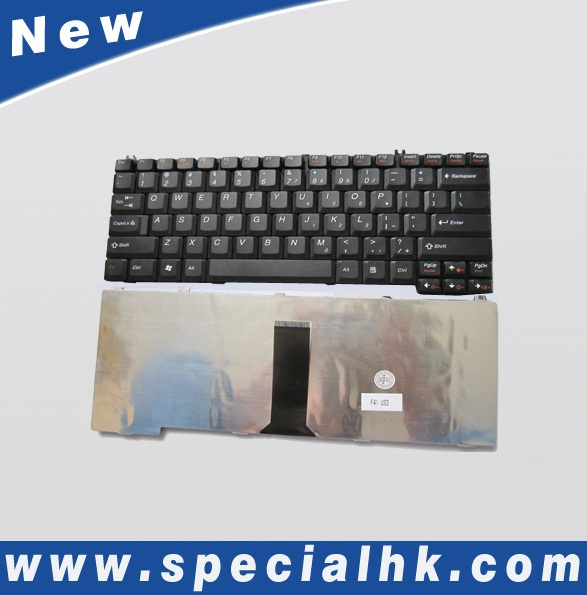 Wholesale computer keyboard for Lenovo laptop 3000 C100 N100 Black US/UK layout