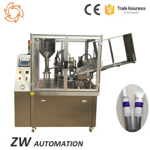 Latex Salves Ointment Syrup PE Tube Filling And Sealing Machine