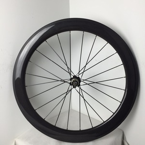 ultra light full carbon T800 wheel 700C road bicycle rims 60mm clincher bike wheel for sale
