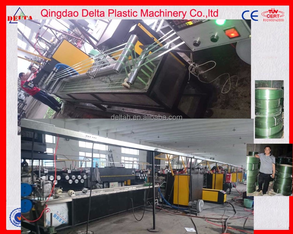 Qingdao professional supplier PP Packing belt production line/making machine/extrusion line
