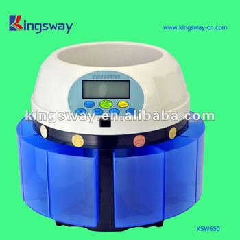 2014 High Speed Coin Counter and Sorter (KSW650)