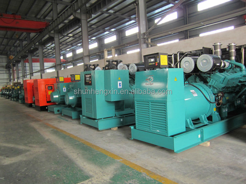 400KW/500KVA Diesel Generator With Cummins Engine KTA19-G3A
