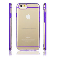 IMPRUE 2015 Ultra Slim Clear Hard TPU+PC Case With Dual Colors for iPhone6 8 Colors Available