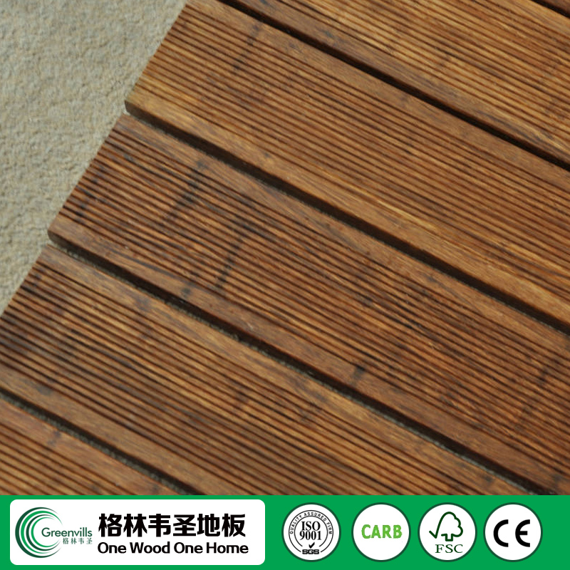 waterproof moso charcoal bamboo wood flooring Manufacturer