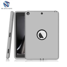 Coque Case for iPad 9.7' 2017 Durable Heavy Duty 3 in 1 Hybrid Rugged Case Shockproof Cover Capa for iPad 2017