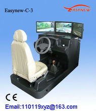 New 3d automobile simulator driving educational machinery