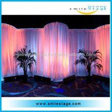 cheap wedding backdrops for exhibition system booth