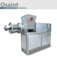 High output 1500kg/hour mechanically deboned meat