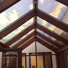 tempered glass sunroom winter garden outdoor glass room