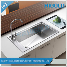 2014 New Design Hot Sale Stainless Steel Kitchen Sink For Hotel
