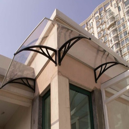 10 years guarantee Fire Retardant polycarbonate porch canopy