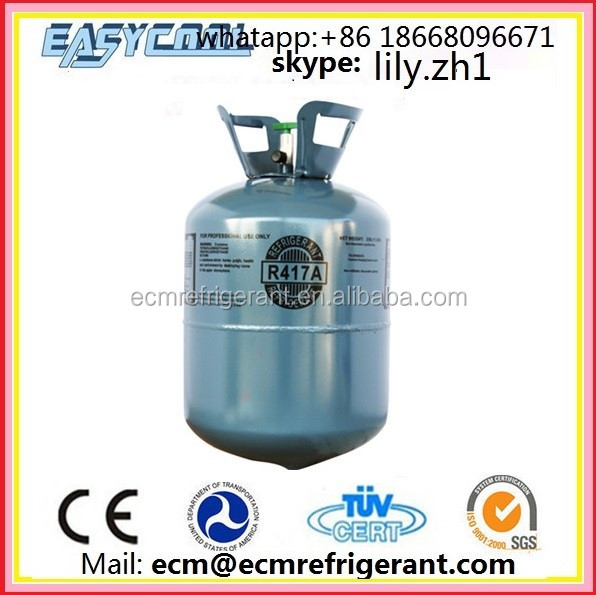 OEM Environmentally Friendly High Purity 99.99% refrigerant gas r417c Replacement R11