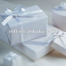 high quality solid color packing gift box ribbon
