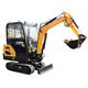 Mini Digger Crawler Excavator New Excavator 1.8 Ton Excavator For Sale