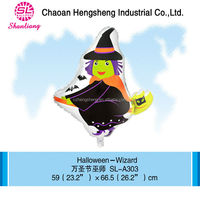 Custom printing foil halloween inflatable cartoon characters