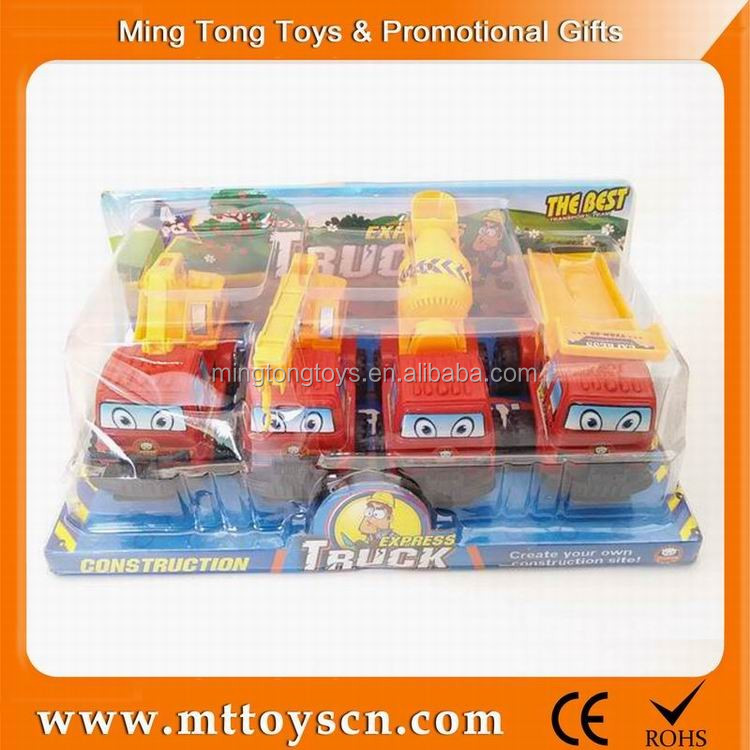 4 style mixed packing mini <strong>friction</strong> car toy