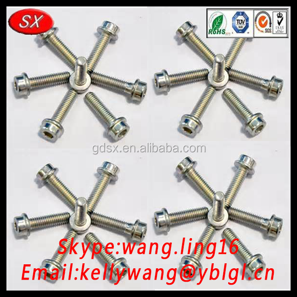 Dongguan zinc sus 304 screw /DIN 25200-1997,Screws, bolts and nuts for rail vehicles