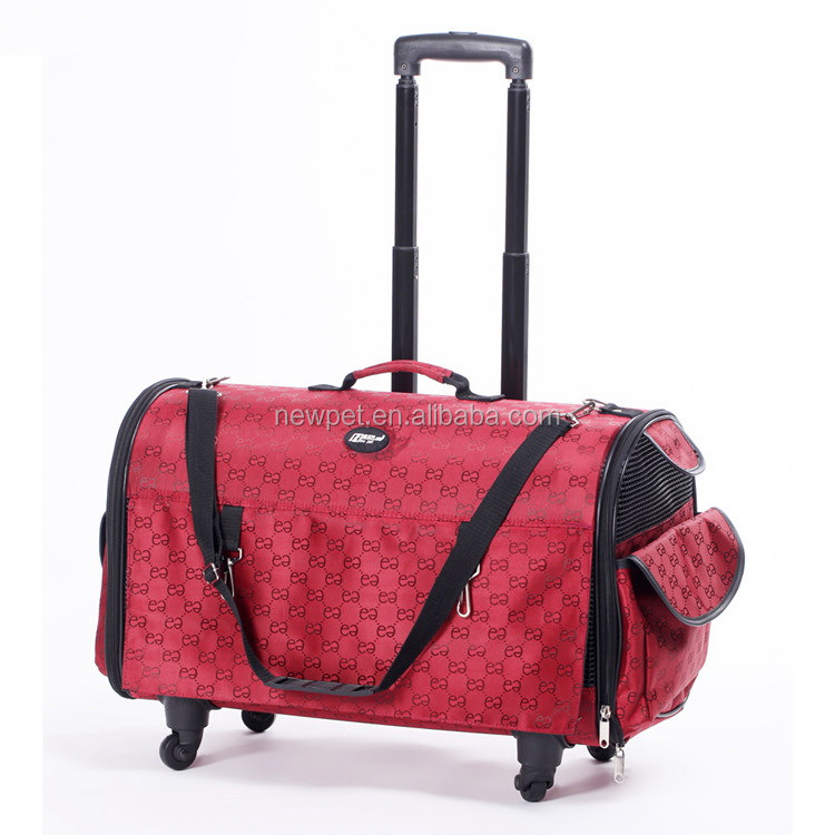 Excellent quality best selling functional trolley bag cage top grade pet bag for small pet