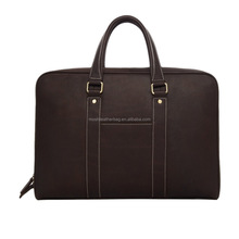 New Fashion Italian Genuine Leather Business Briefcase D007