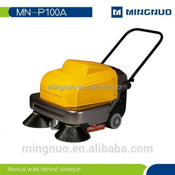 walk behind street sweeper,small street sweeper,gas powered snow sweepe