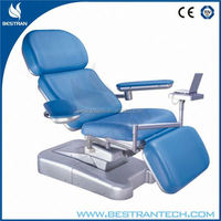 BT-DN001 3 motor adjustable reclining blood drawing chairs