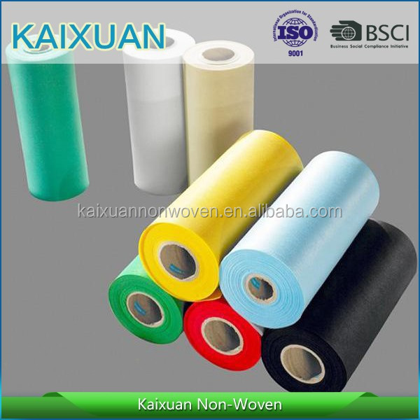 10~200gsm 100% PP Spunbonded Nonwoven fabric in rolls, small width pp non-woven fabric